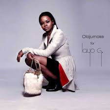 Olajumoke at a Photo shoot