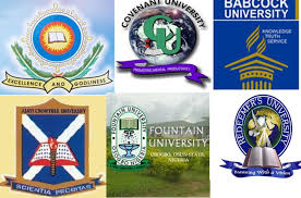 The Full List Of The Best Private Universities In Nigeria And Their Present Fees