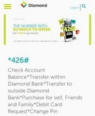 How To Create Diamond Bank Transfer Pin And Use For Different Transactions