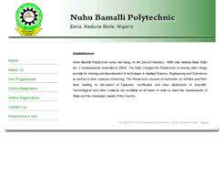 How To Get ND, HND Form In Nuhu Bamalli Polytechnic And Register Courses Online